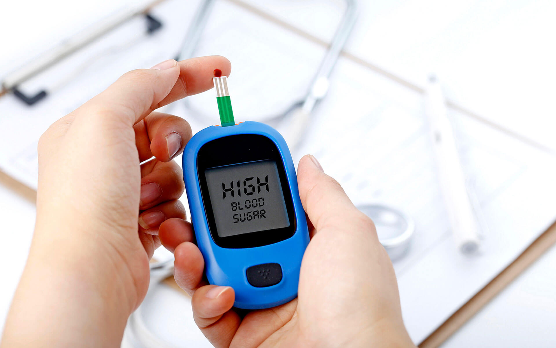 Tested positive for high blood sugar - What Is Diabetes? health and wellness