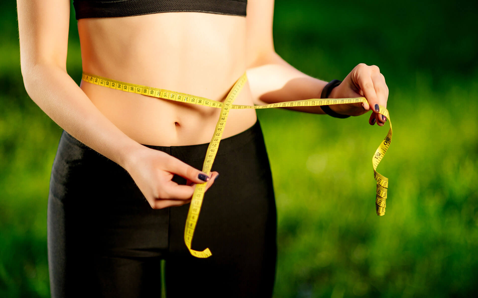 Measuring the waist (Weight management) - health and wellness